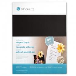 Silhouette Magneet papier adhesive