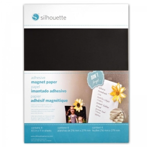 Silhouette Magneet papier adhesive