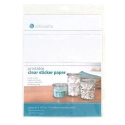 Silhouette printbaar doorzichtig sticker papier.