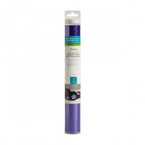 Cricut Premium Vinyl Holographic Bubbles Ultra Violet