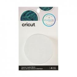 Cricut Blank Coaster Round (4pcs) (2006582)