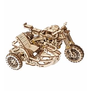 Ugears Scrambler UGR-10 motor met zijspan