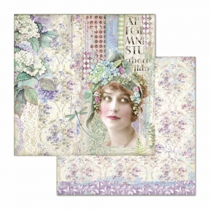 Stamperia Hortensia Lady 12x12 Inch Paper Sheets