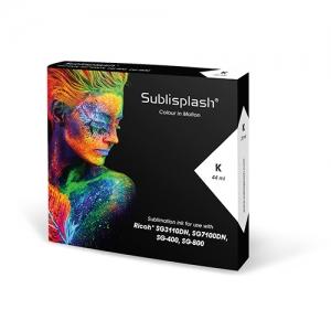 Sublisplash® 44 ml Black for Ricoh SG 3110DN/7100DN, SG 400/800