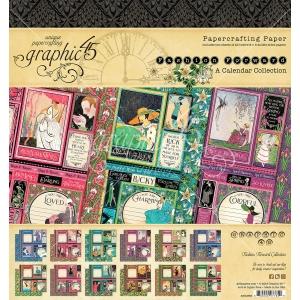 Graphic 45 Fashion Forward 8x8 Inch Pad