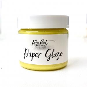 Picket Fence Studios Paper Glaze Daffodil Yellow