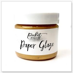 Picket Fence Studios Paper Glaze Golden Rose