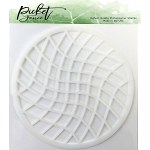 Picket Fence Studios Waffle Squares Stencil
