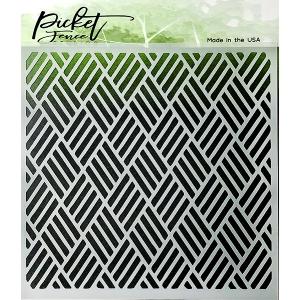Picket Fence Studios Triple Weave Stencil