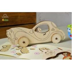 UGears Kids Kleuren model Auto
