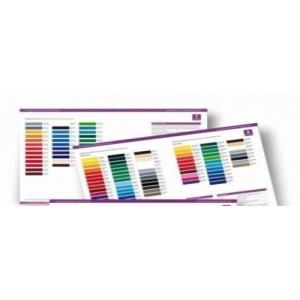 XE/M4 kleurenkaart