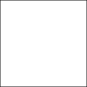 Statisch raamfolie wit (Penstick)