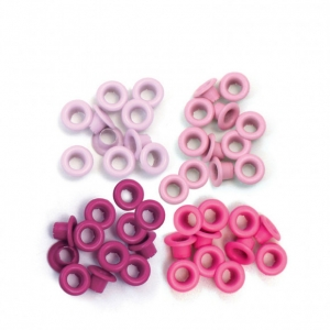 We R Memory Keepers • Standard eyelets Pink x 60