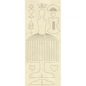 Stamperia Wooden Shapes 12.5x30cm Mannequin