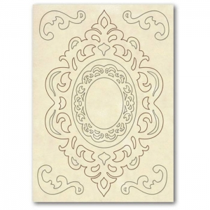 Stamperia Wooden Shapes A5 Friezes & Corners